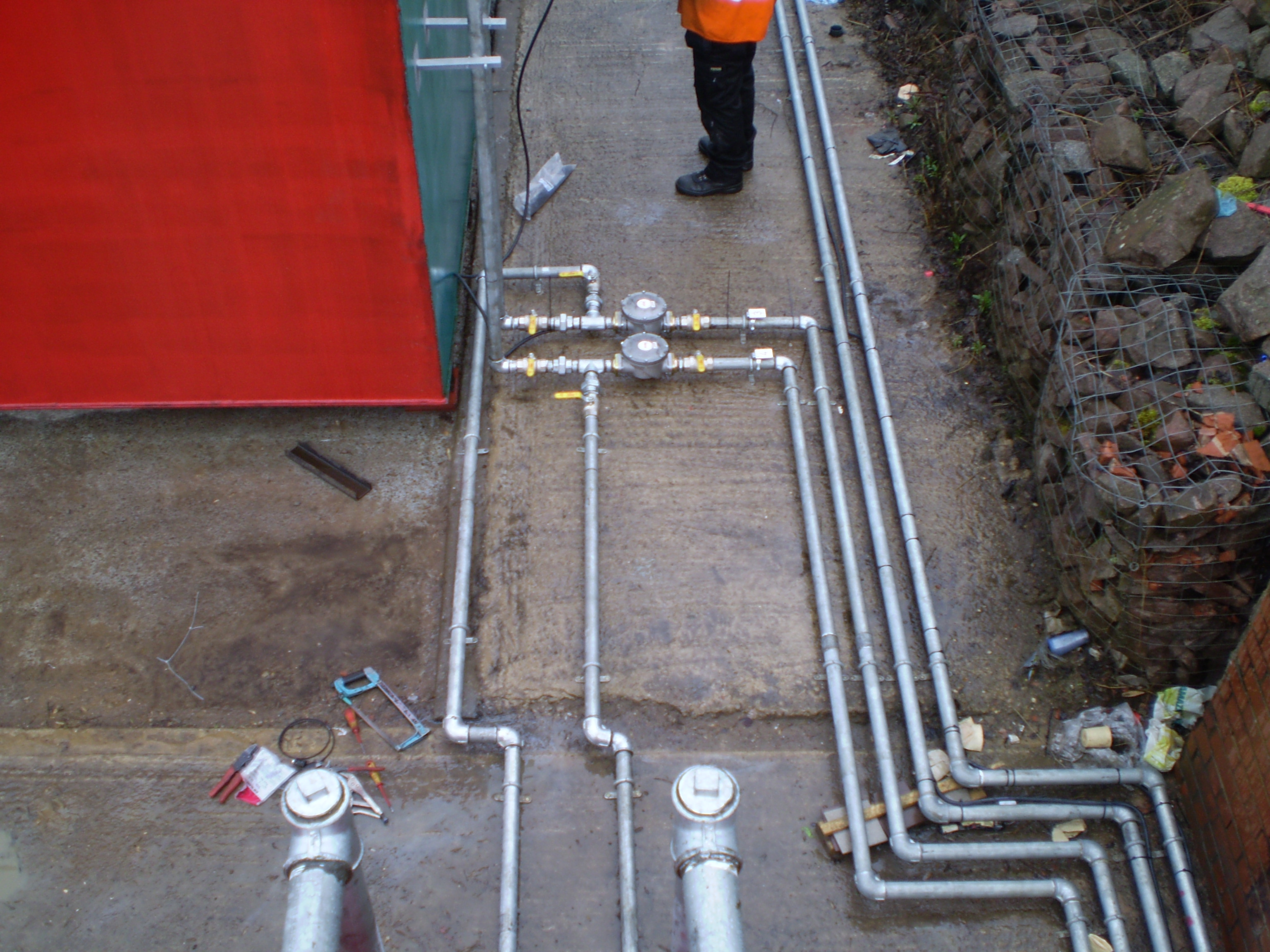Below Ground Pipework
